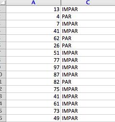 Excel Aleatorios
