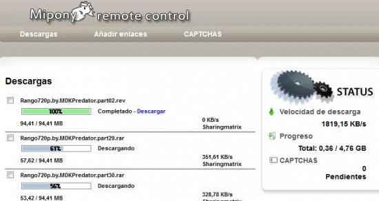Descargas MyPony Remote
