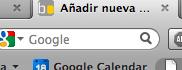 Buscador Firefox Google