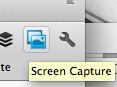 Icono captura de pantalla
