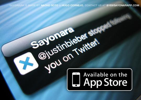 Recupera tu adolescencia con Sayonara App