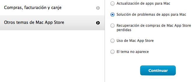 Paso devolución Mac