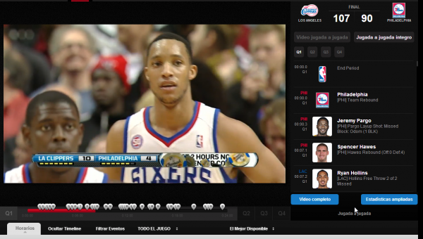NBA League Pass Web