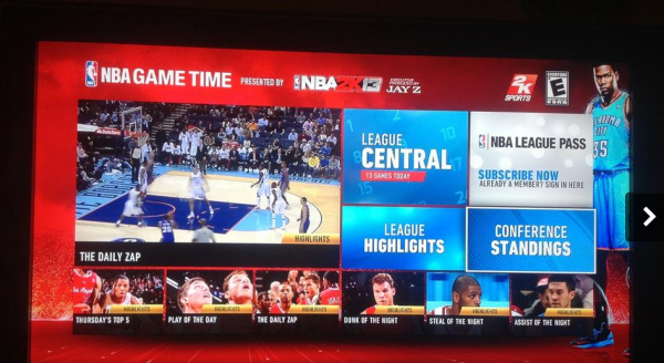 NBA League Pass XBOX