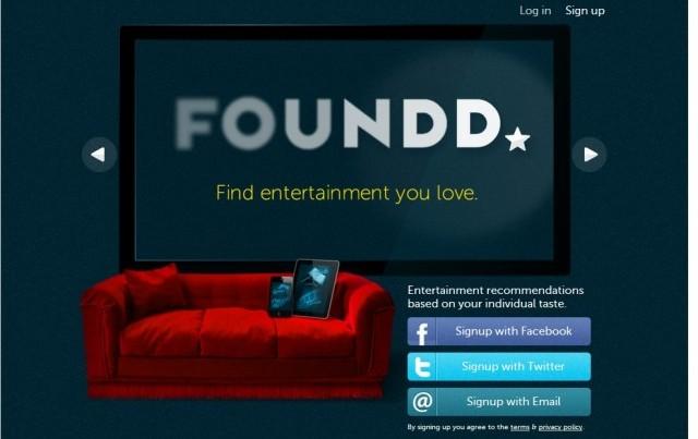 Recomendaciones de películas con Foundd