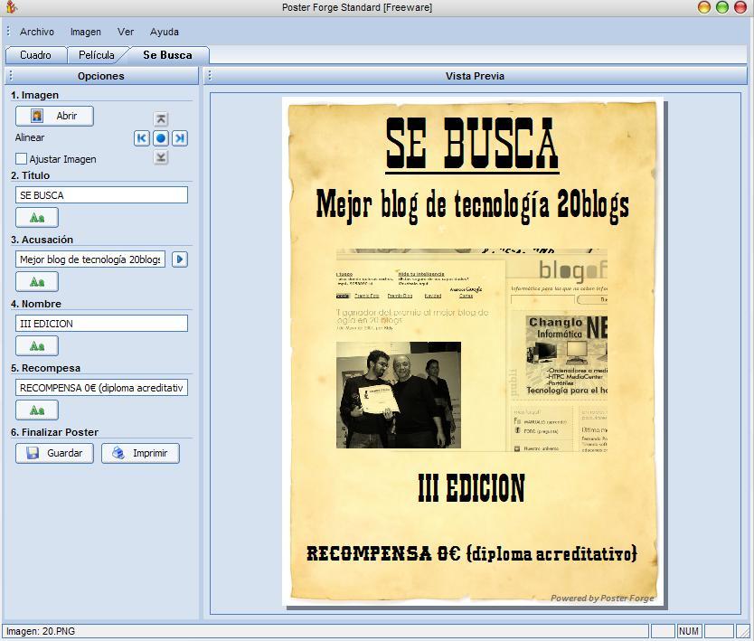 Programa para dise ar carteles blogoff for Programa para disenar jardines gratis en espanol