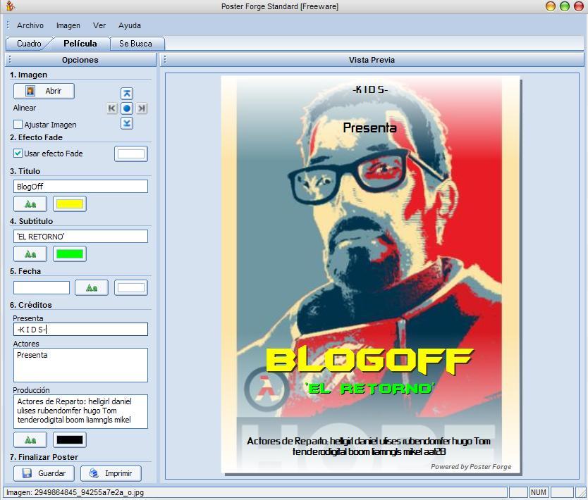 Programa para dise ar carteles blogoff for Programas para disenar